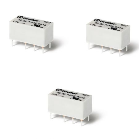 30 series subminiature dil relays 2 a 1