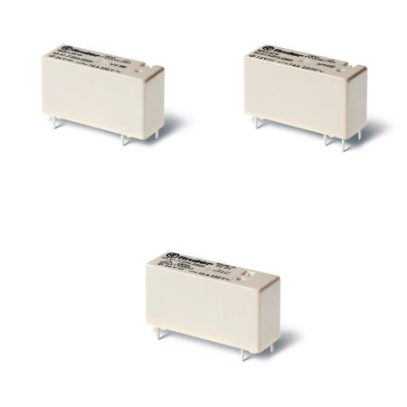 43 series low profile pcb relays 10 16 a
